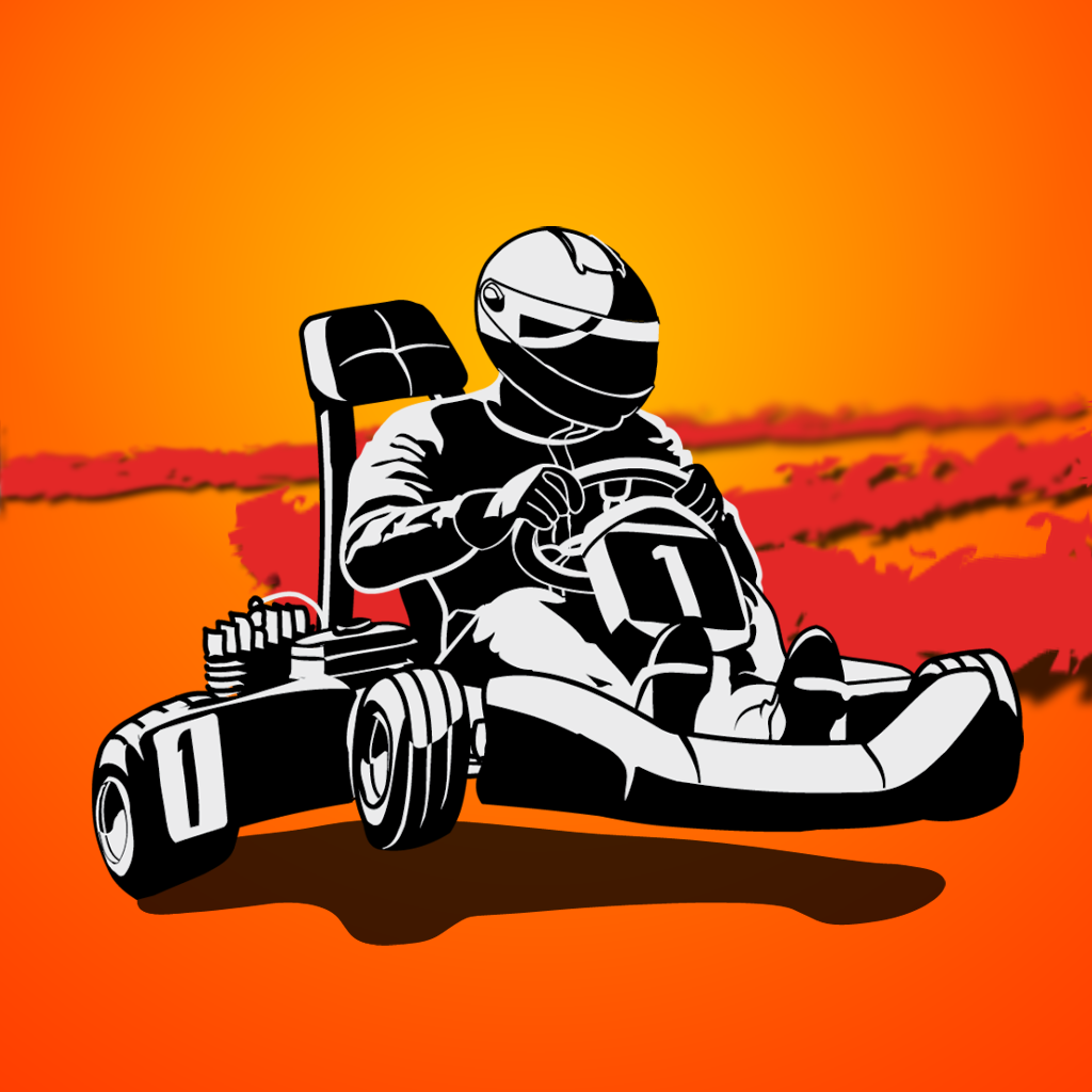 Logo de l'application Go kart